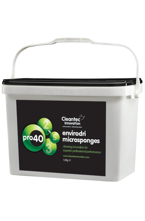 Pro 40 Carpet Cleaner Microsponges Bucket - Green Tea