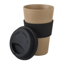 Bamboo Reusable Coffee Cup 16oz - Sold Singly
