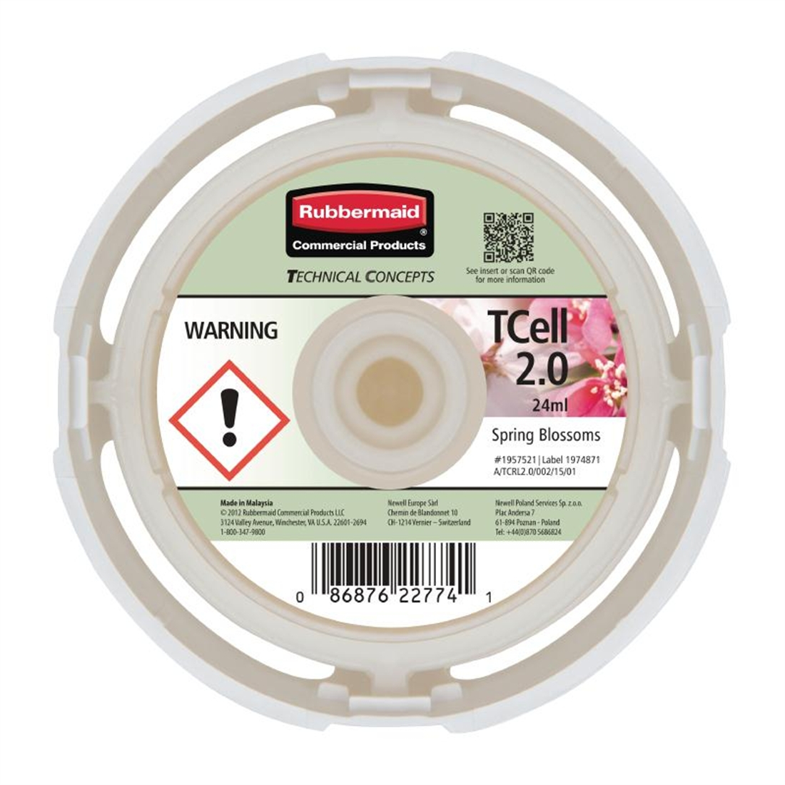 Rubbermaid TCell 2.0 Refill Spring Blossoms