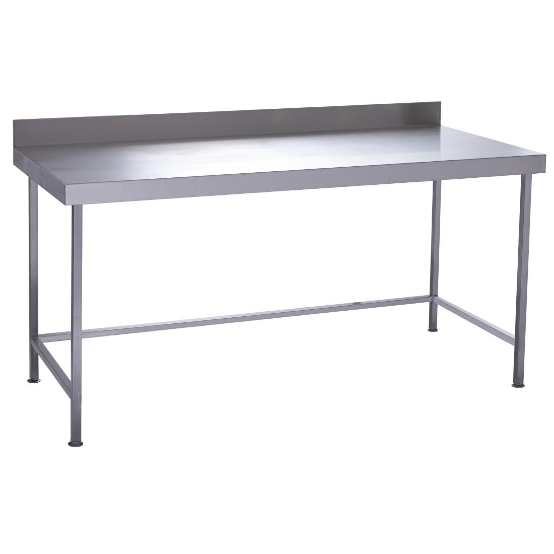 Parry Fully Welded Stainless Steel Wall Table 900x600mm