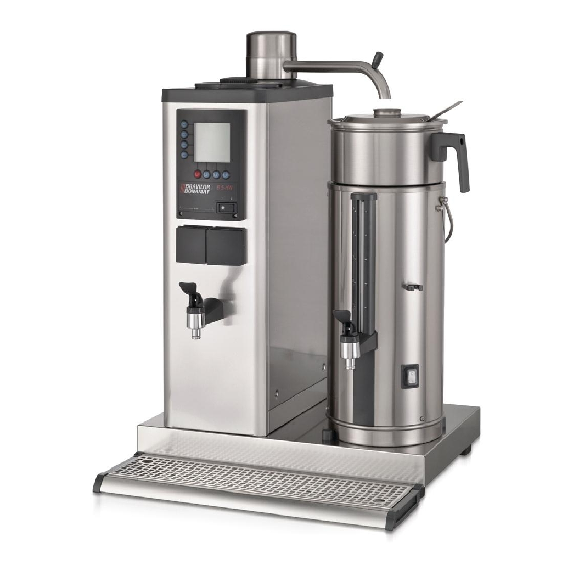 Bravilor B5 HWR Bulk Coffee Brewer with 5Ltr Coffee Urn and Hot Water Tap 3 Phase