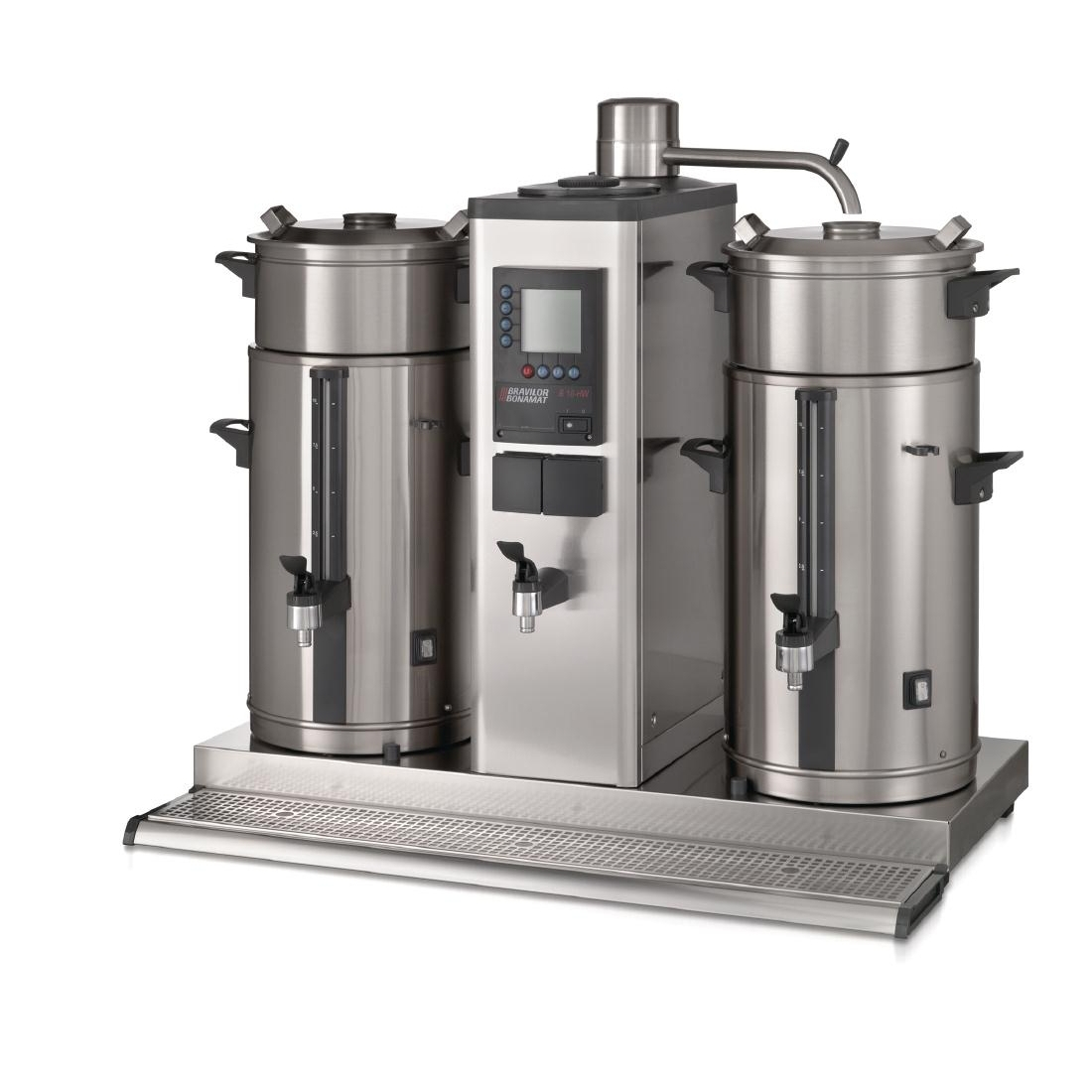 Bravilor B10 HW5 Bulk Coffee Brewer with 2x10Ltr Coffee Urns and Hot Water Tap 3 Phase