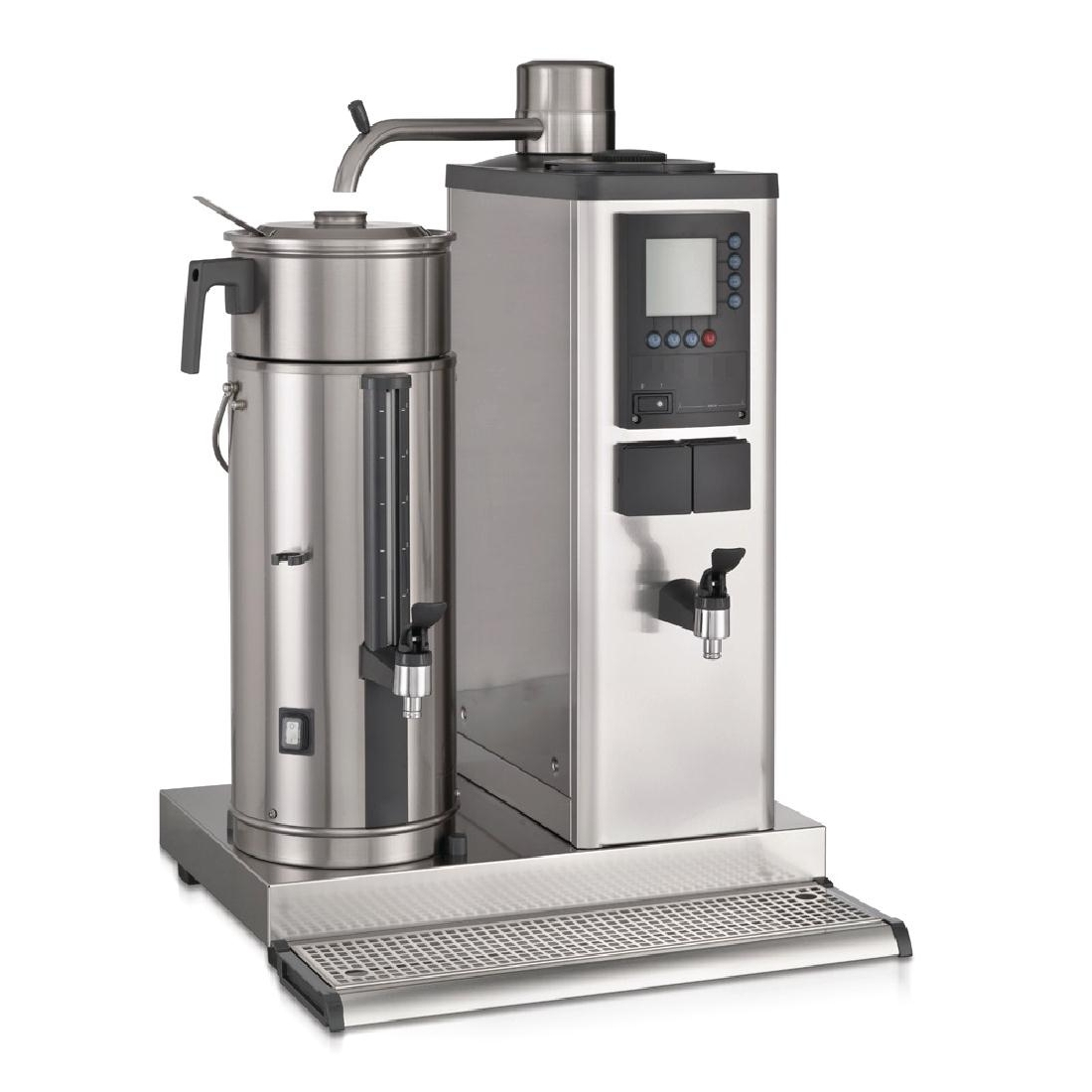 Bravilor B20 HWL Bulk Coffee Brewer with 20Ltr Coffee Urn and Hot Water Tap 3 Phase