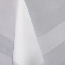 Delta Satin Band Slip Cloth Cotton White 89x89cm