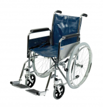 Std. Self Propell Wheel Chair  18 inch Detach Arms & Footres