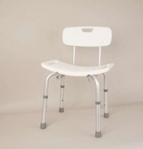 Deluxe Shower Stool wit back Rest