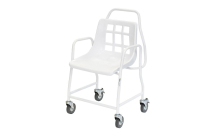 Mobile Shower Chair -Max. User wght.160kg. with 4 break cas