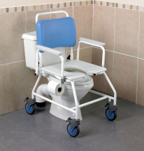 Atlantic Bariatric Commode Shower Chair - Width-22inch