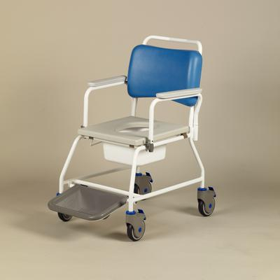 Atlantic Shower Commode Chair with Footrest