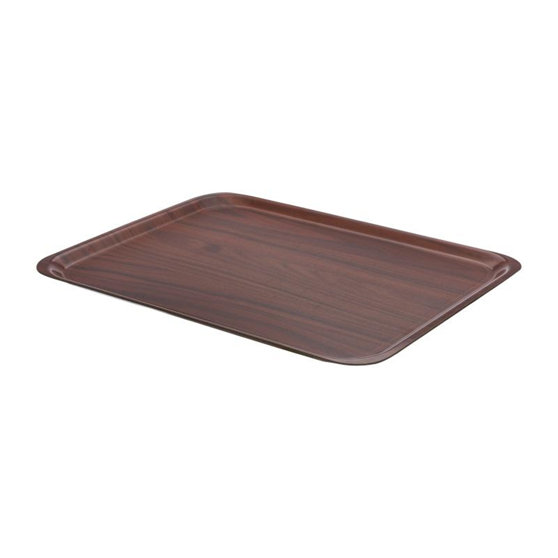 Cambro Mykonos Food Tray Walnut 460mm
