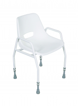 Shower Chair - Seat W-18inch D-15inch Adjustable Height