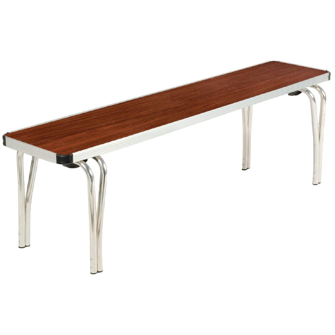 Gopak Contour Stacking Bench Teak 4ft