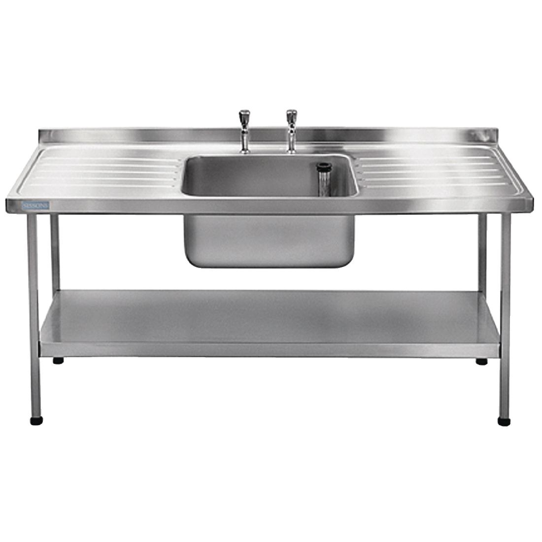 Franke Sissons Stainless Steel Sink Centre Bowl 1800x650mm
