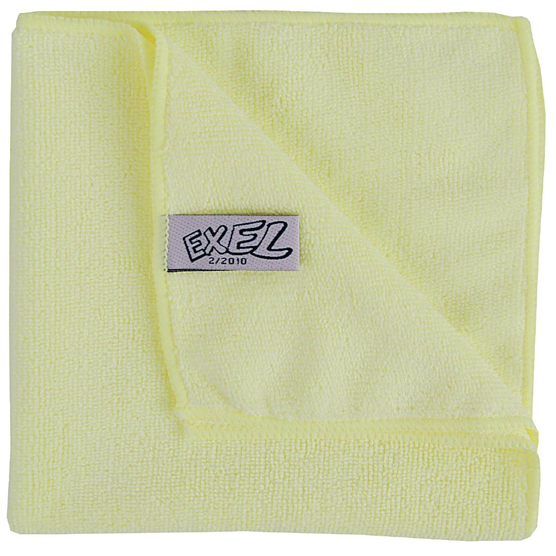 Jantex Mircofibre Cloths Yellow