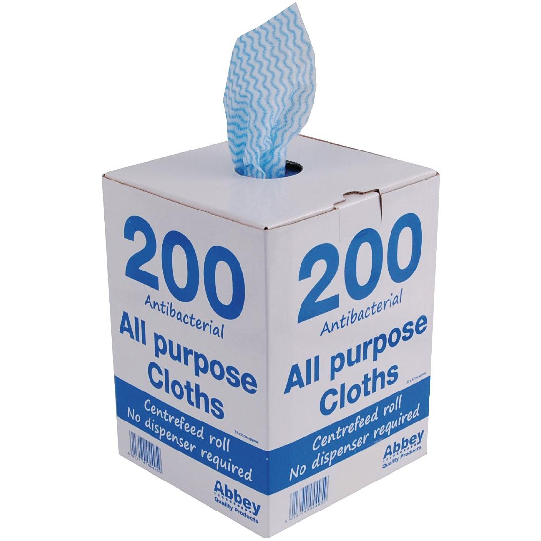 Jantex Antibacterial All Purpose Cloth Blue 200