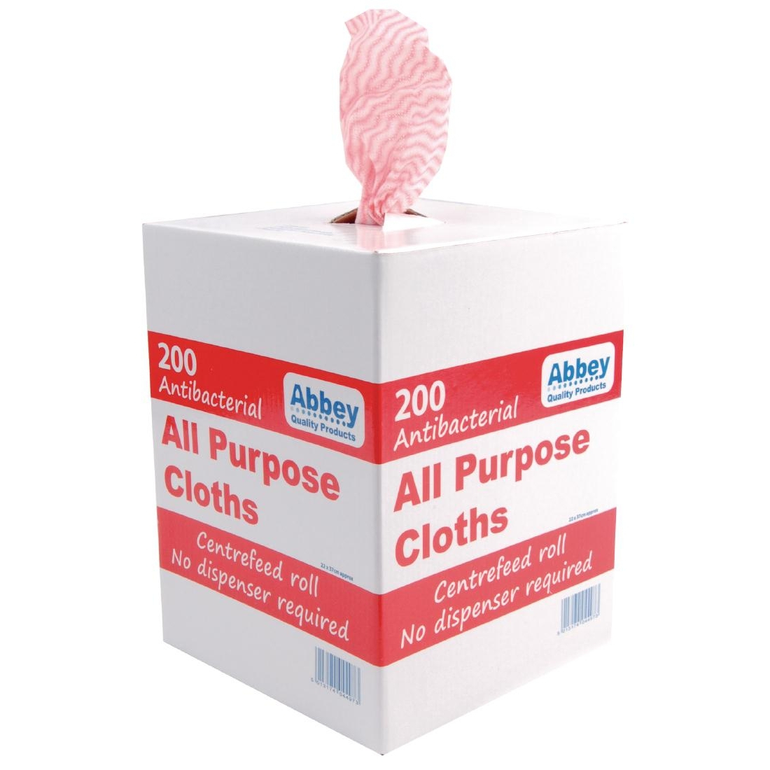 Jantex Antibacterial All Purpose Cloth Red 200
