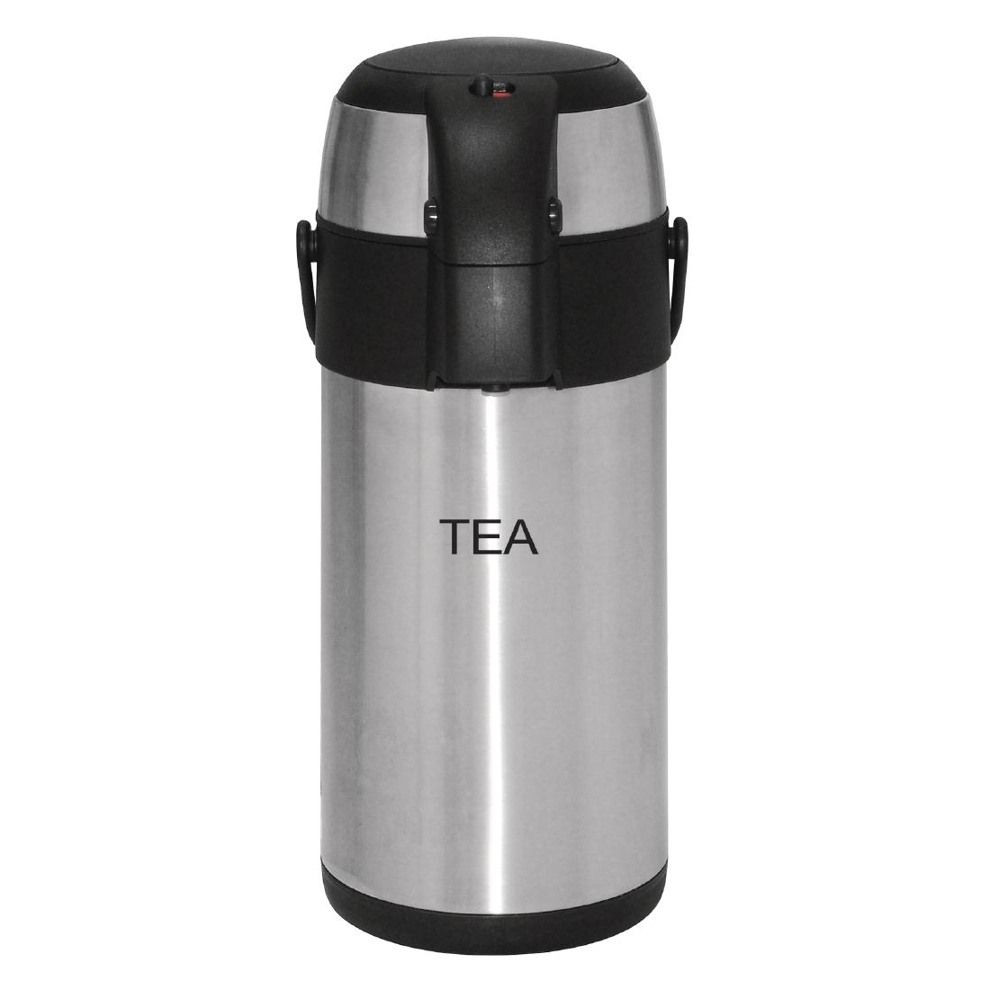 Olympia Pump Action Airpot Etched 'Tea' 3Ltr