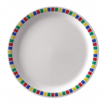 Kristallon Fairground Melamine Dinner Plates 230mm