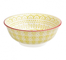 Fresca Large Bowls Yellow 8inch Box of 4