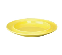 Heritage Raised Rim Yellow Plates - 8inch - Box of 4