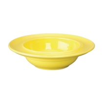 Heritage Raised Rim Yellow Bowl 205mm - Box of 4