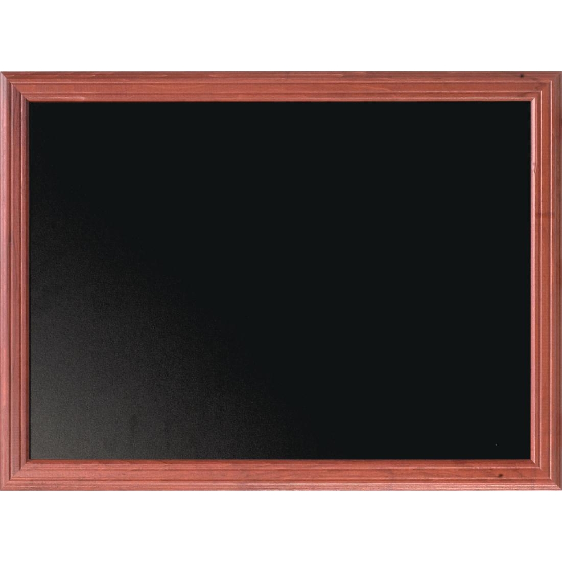 Securit Mohogany Effect Blackboard 80 x 100cm