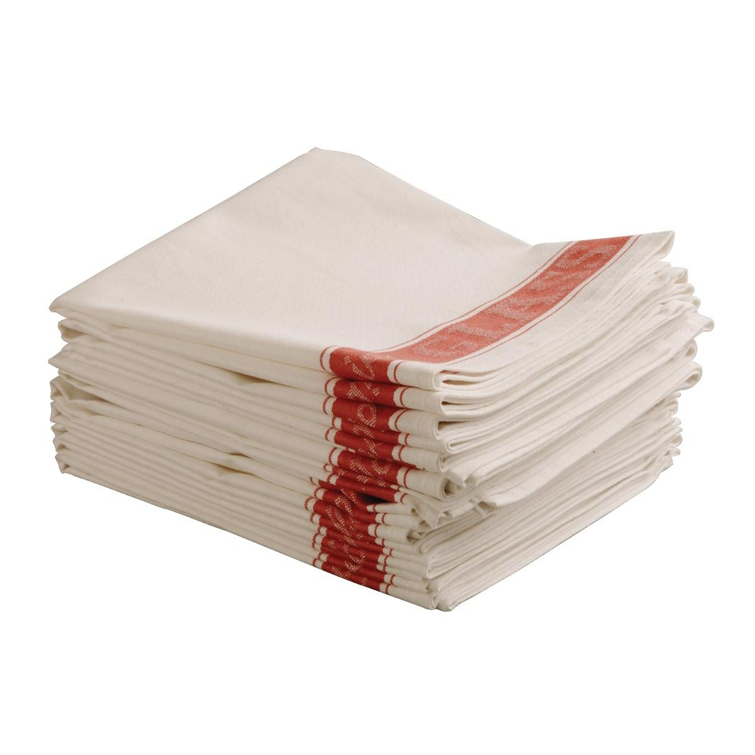 Vogue Glass Cloth Red