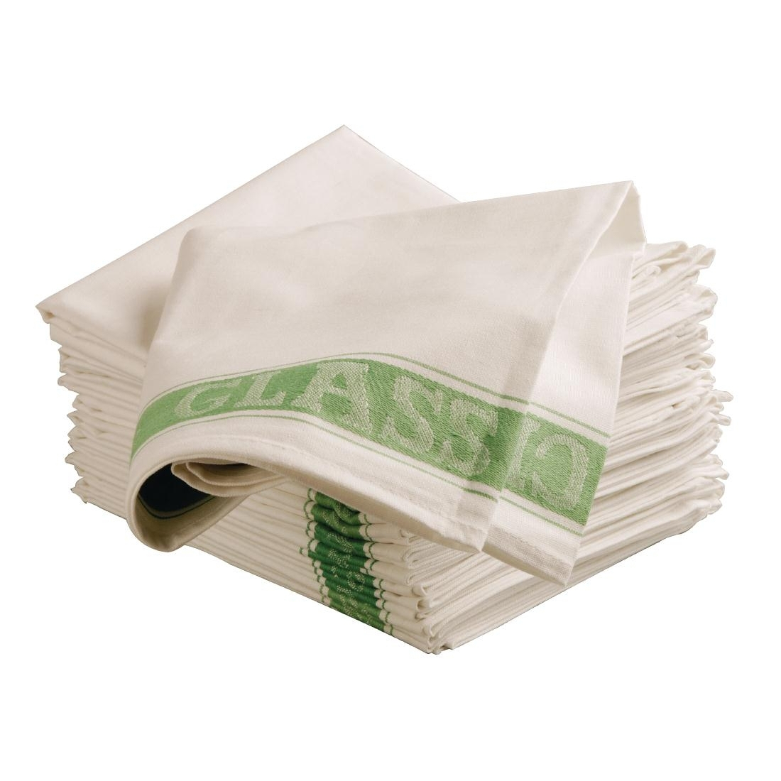 Vogue Glass Cloth Green