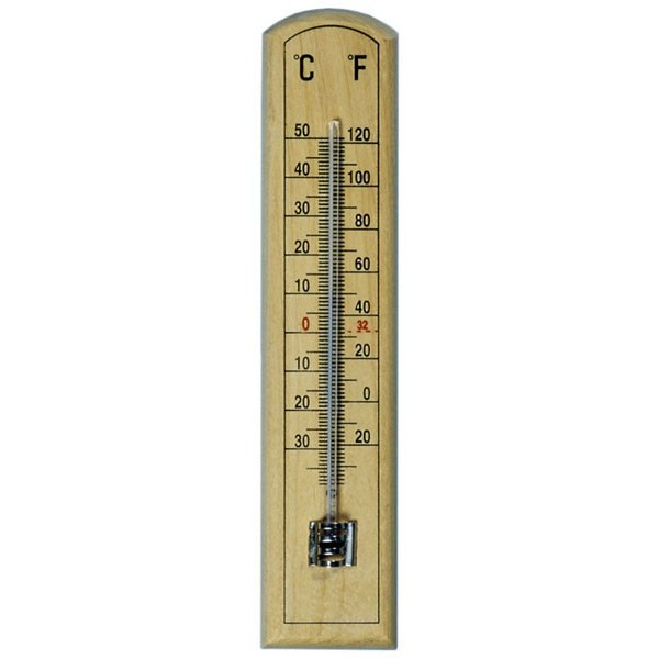 Room Thermometer - Beechwood