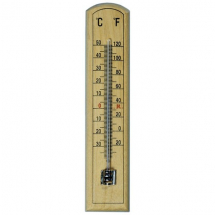 Room Thermometer - Wooden
