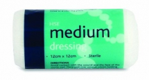 Sterile Wound Dressing Medium 6 per Pack 12 x 12cm