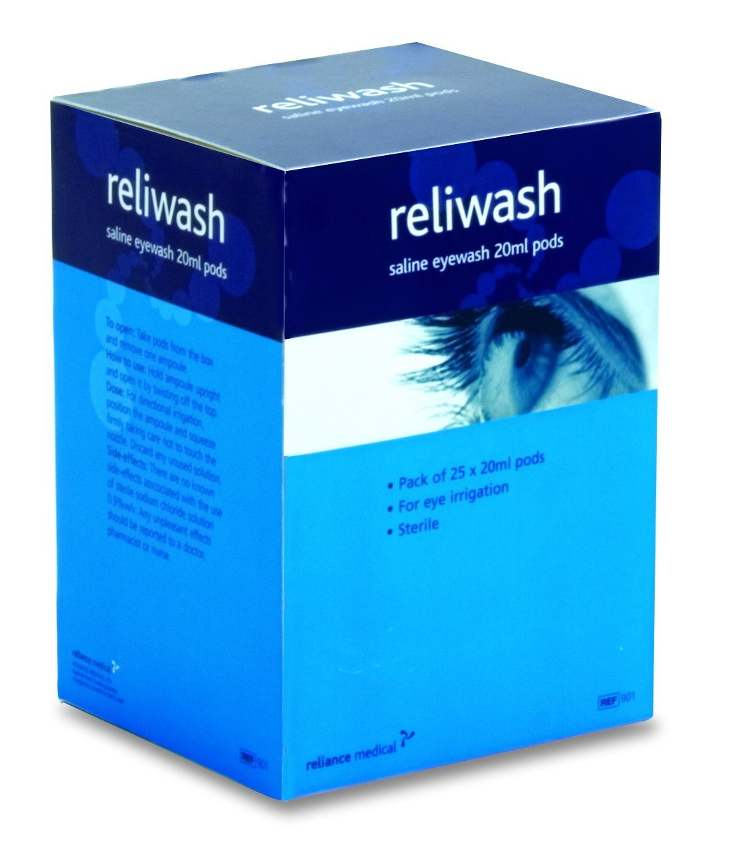 20ml Sterile Eye Wash - Pack of 25