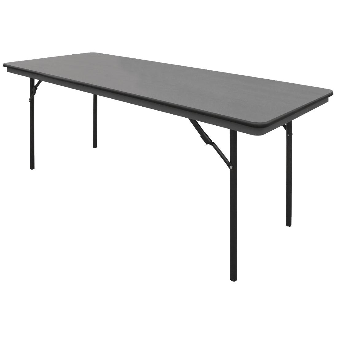 Bolero ABS Folding Banquet Rectangular Table 6ft