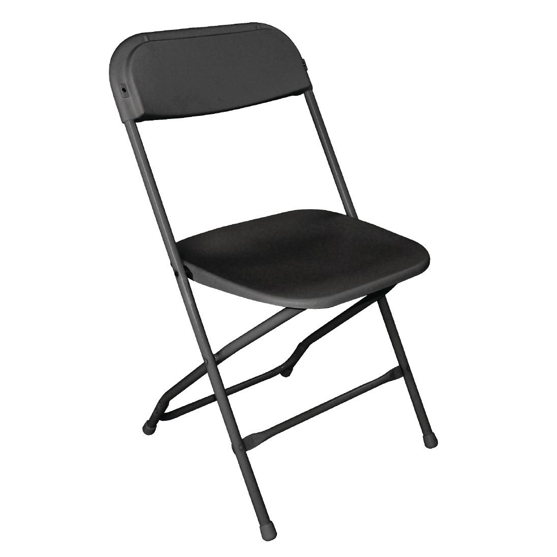 Bolero Folding Chair Black (Pack of 10)