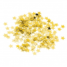 Gold Star Confetti Pack of 12 only