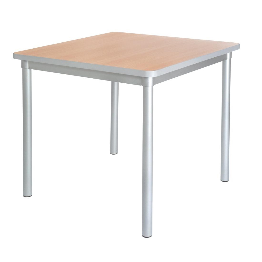 Gopak Enviro Indoor Beech Effect Square Dining Table 750mm