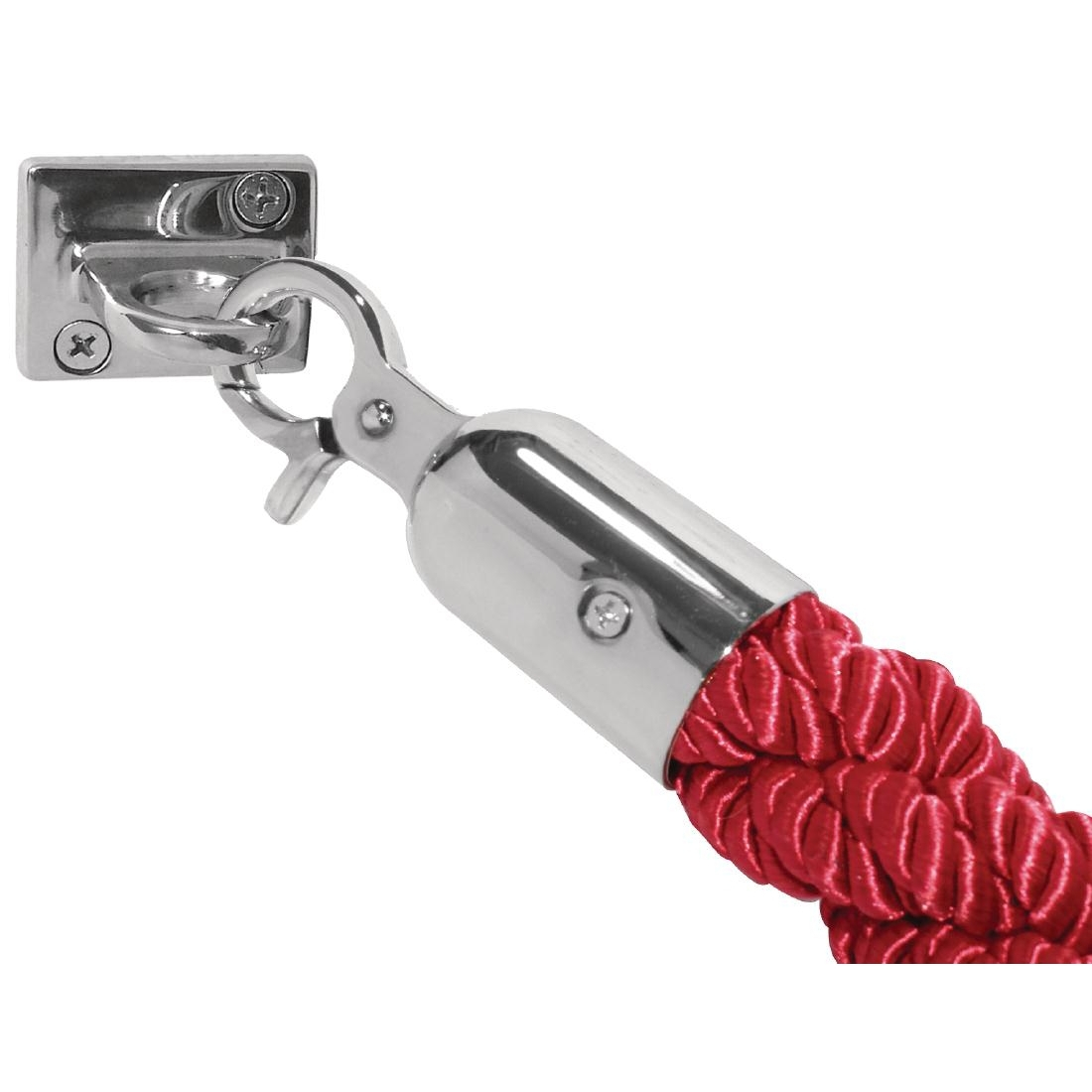 Bolero Red Twist Barrier Rope