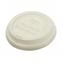 Vegware Compostable Hot Cup Li ds 12oz and 16oz