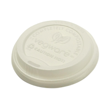 Vegware Compostable Hot Cup Li ds 8oz