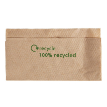 Kraft Lunch Napkins Recycled 3 30 x 320mm