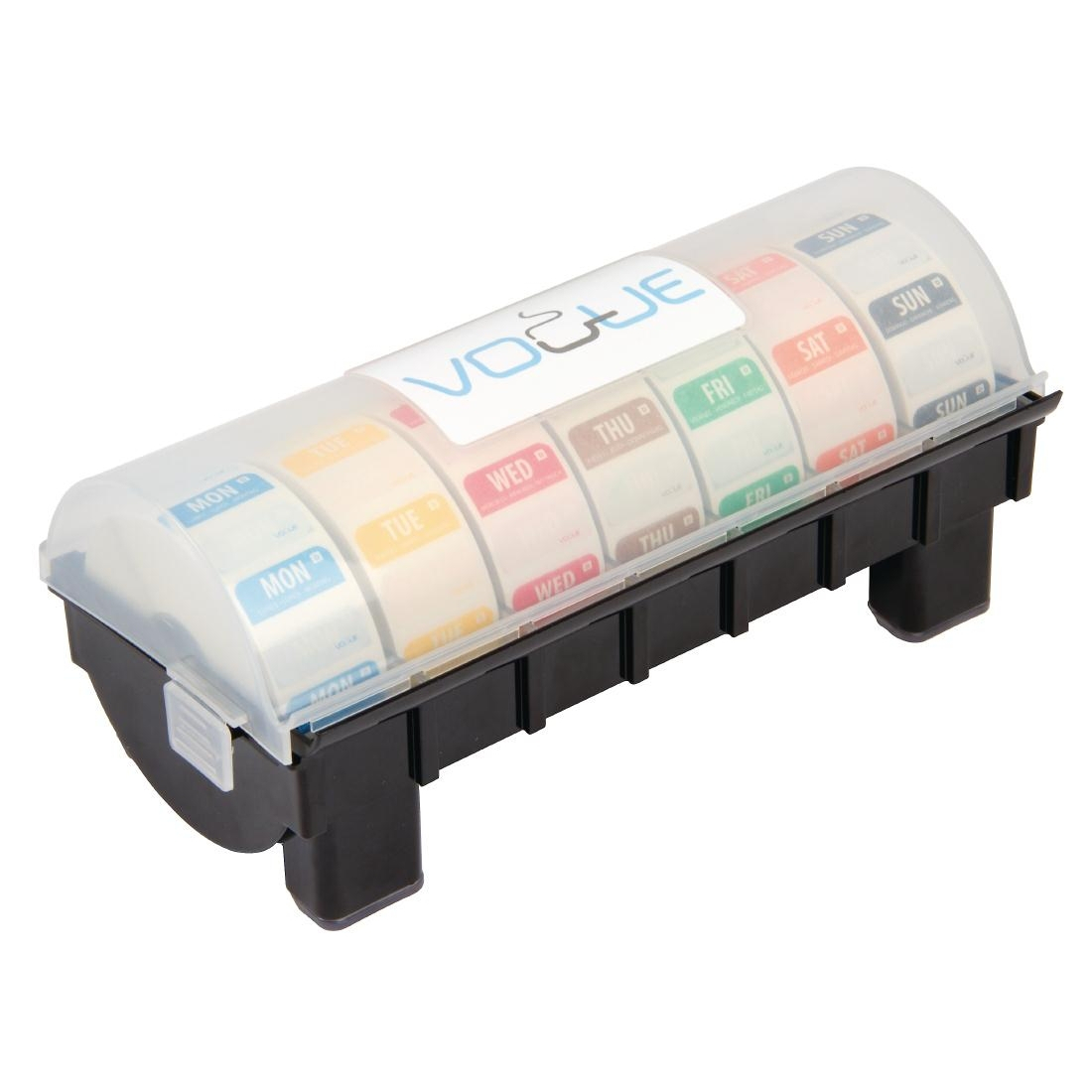 Dissolvable Colour Coded Food Label Starter kit with 1inch Dispenser