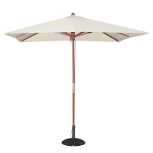 Bolero Square Pulley Parasol 2 .5m Diameter Cream