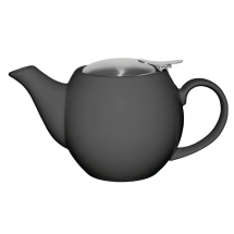 Olympia Cafe Teapot 510ml Charcoal