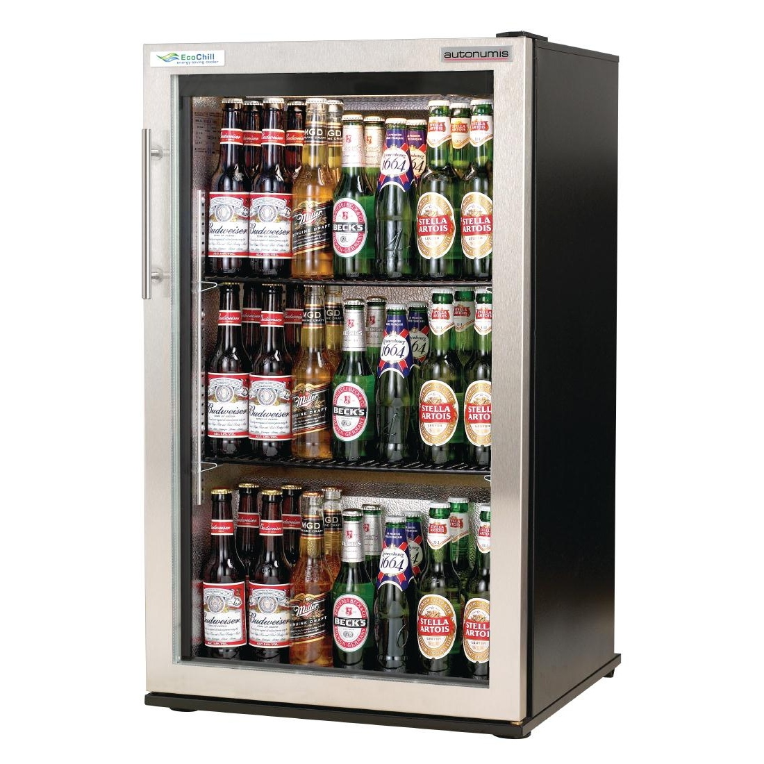 Autonumis EcoChill 1 Door Back Bar Cooler St/St Door A209128