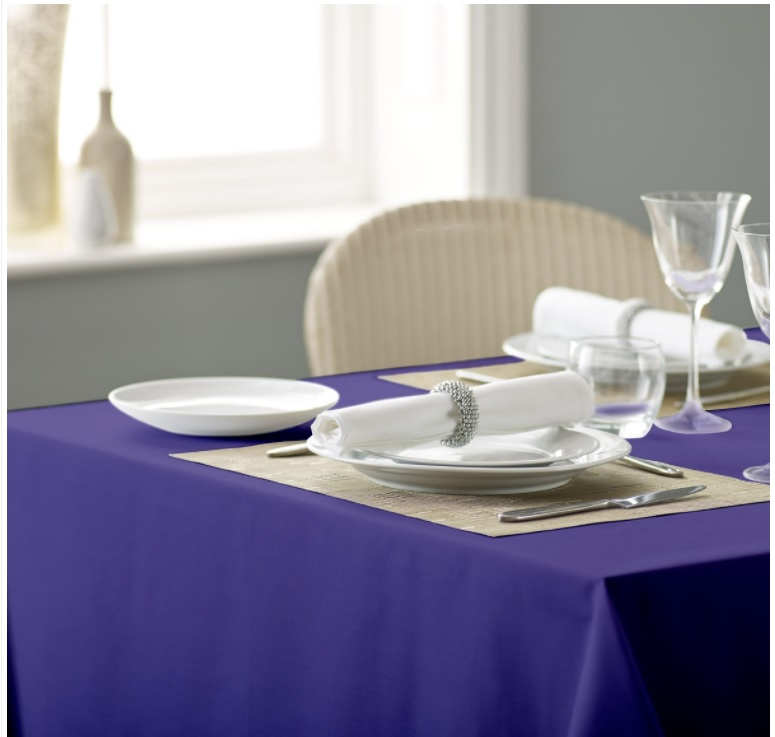Alpha Plain Table Cloth 1 137x137cm - Heather