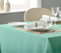 Alpha Plain Slip Cloth 90x90cm 90cm - Pale Green