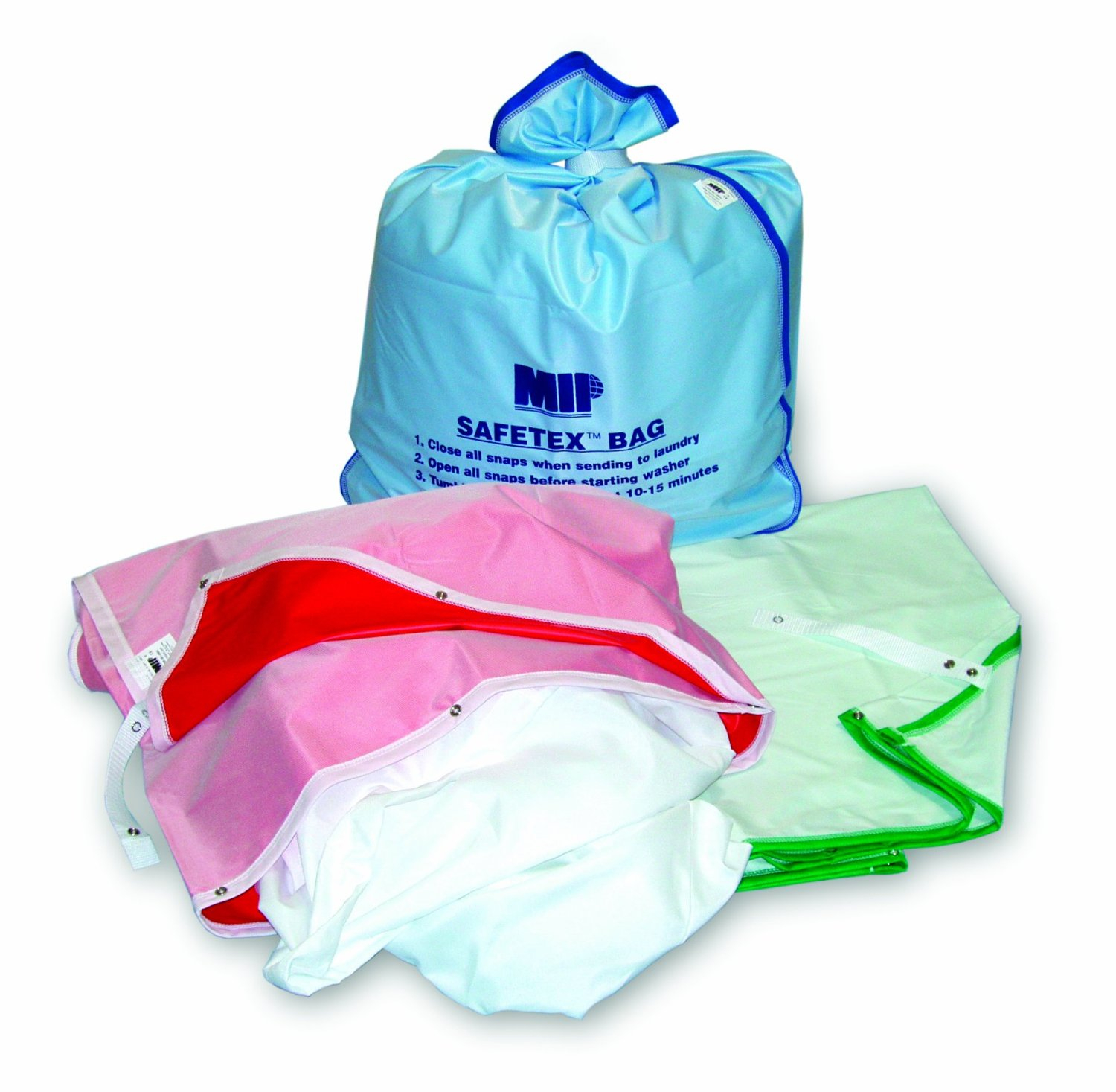 Green Safetex Laundry Bag