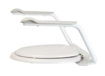 Toilet Seat with Arm Rests