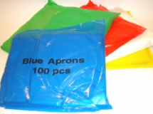 Case of Polythene Aprons Blue 42-46 inch 10 x 100