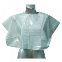 Disposable Shoulder Capes x 100 - White